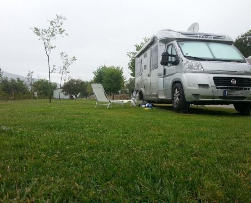 caravana y camping en Madrid