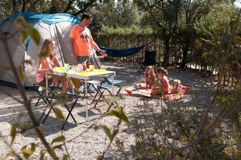 Parcelas camping Madrid