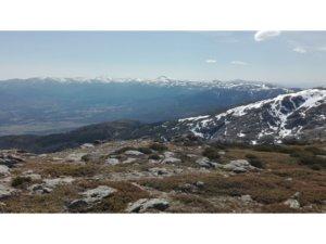 Desde el Nevero, a 16 km de Camping Sierra Madrid Monte Holiday