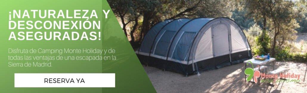 Camping seguro en Madrid